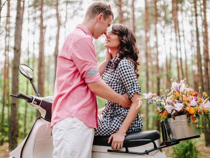 engagement photography Magda & Tomek
